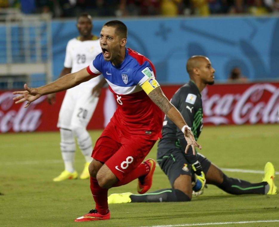 世界上最快的进球_世界杯美国队英雄登普西:足球促进了与神的关系   基督邮报